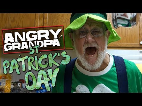 ANGRY GRANDPA'S ST. PATRICK'S DAY COOKING DISASTER!