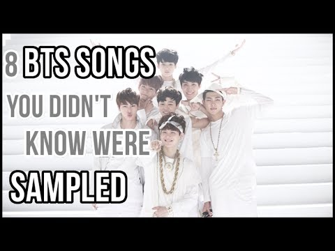 8 Bts Songs That Were Sampled