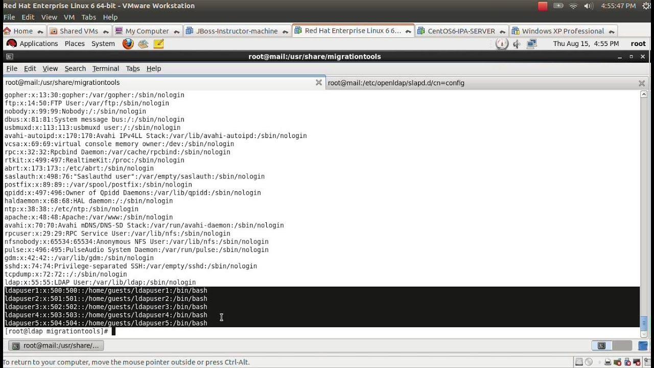 OpenLDAP Configuration on RHEL 6 x / CentOS 6 x