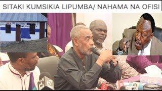 MAALIM SEIF ajibu: Kugombea urais ACT/ kuchukua Ofisi za CUF/ Lipumba