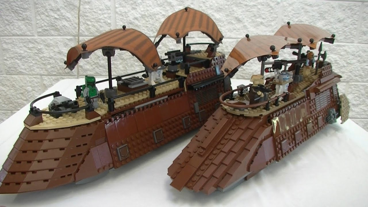 Jabba's Sail Barge 6210 Review & Comparison - YouTube
