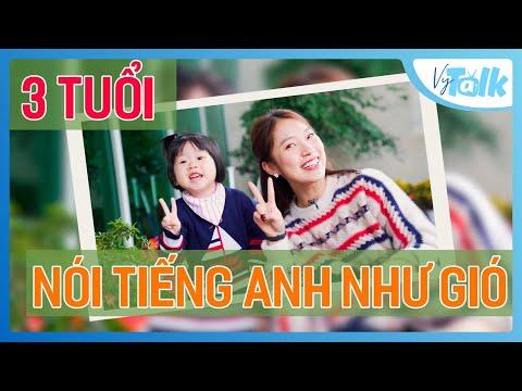 Annie 3 Tuổi Nói Tiếng Anh Siêu đỉnh Cùng Khánh Vy | VyTalk Ep.01 | Khánh Vy Official