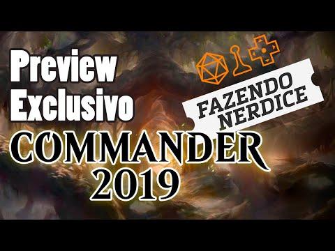 Preview Commander 2019: Mudanças De Cores, Mudanças De Planos #MTGC19