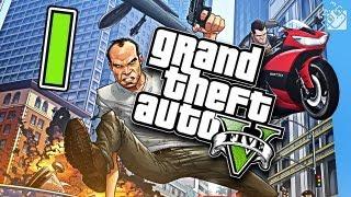 Гагатун впервые играет в GTA V #1