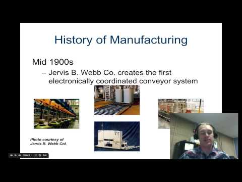 History of Manufacturing