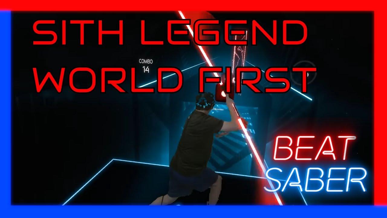 SITH Legend - TRUE Darth Maul staff! - Beat Saber Custom Song Darth Maul  style VR