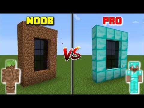 Minecraft NOOB DIMENSION VS PRO DIMENSION / GO INSIDE THE DIRT AND DIAMOND DIMENSION !! Minecraft thumbnail