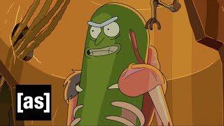 Design Sneak Peek: Pickle Rick | Rick and Morty | Adult Swim thumbnail