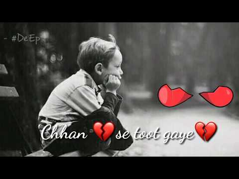 Pehle pyar ka pehla gum -1||Love :sad : heartouching ||Whatsapp status | by #deep