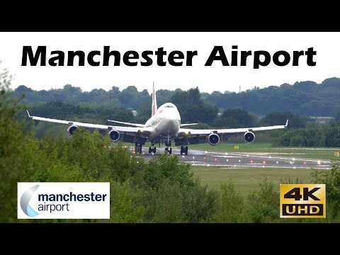 Manchester Airport 4th September 2018 4/9/18 HD 4K Plane Spotting