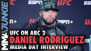 Daniel Rodriguez: Mike Perry Win Will Elevate My Name | UFC On ABC 2 Media Day