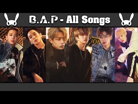 B.A.P (비에이피) All Songs & Album Compilation