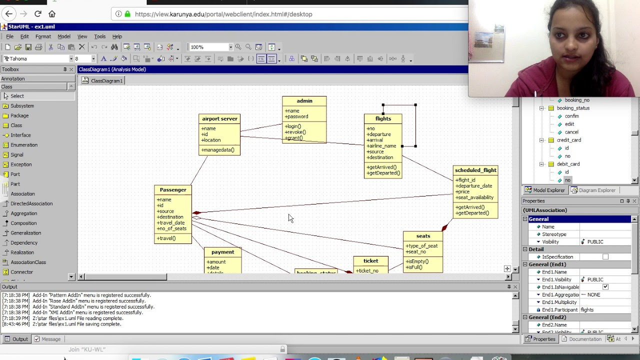 Class System Diagram Fill In The Blank Anatomy Diagrams For Airline Reservation Youtube