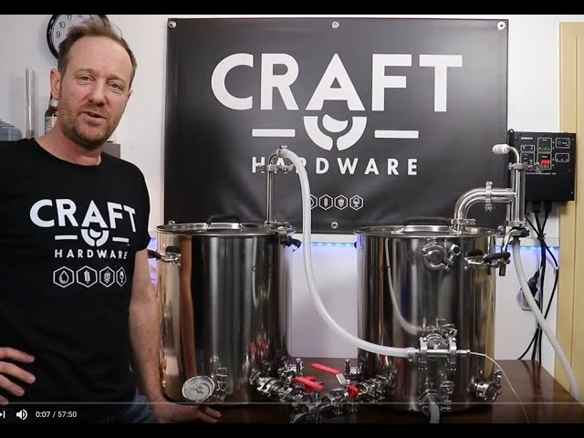 Craft Hardware HERMS Duo Brew Day