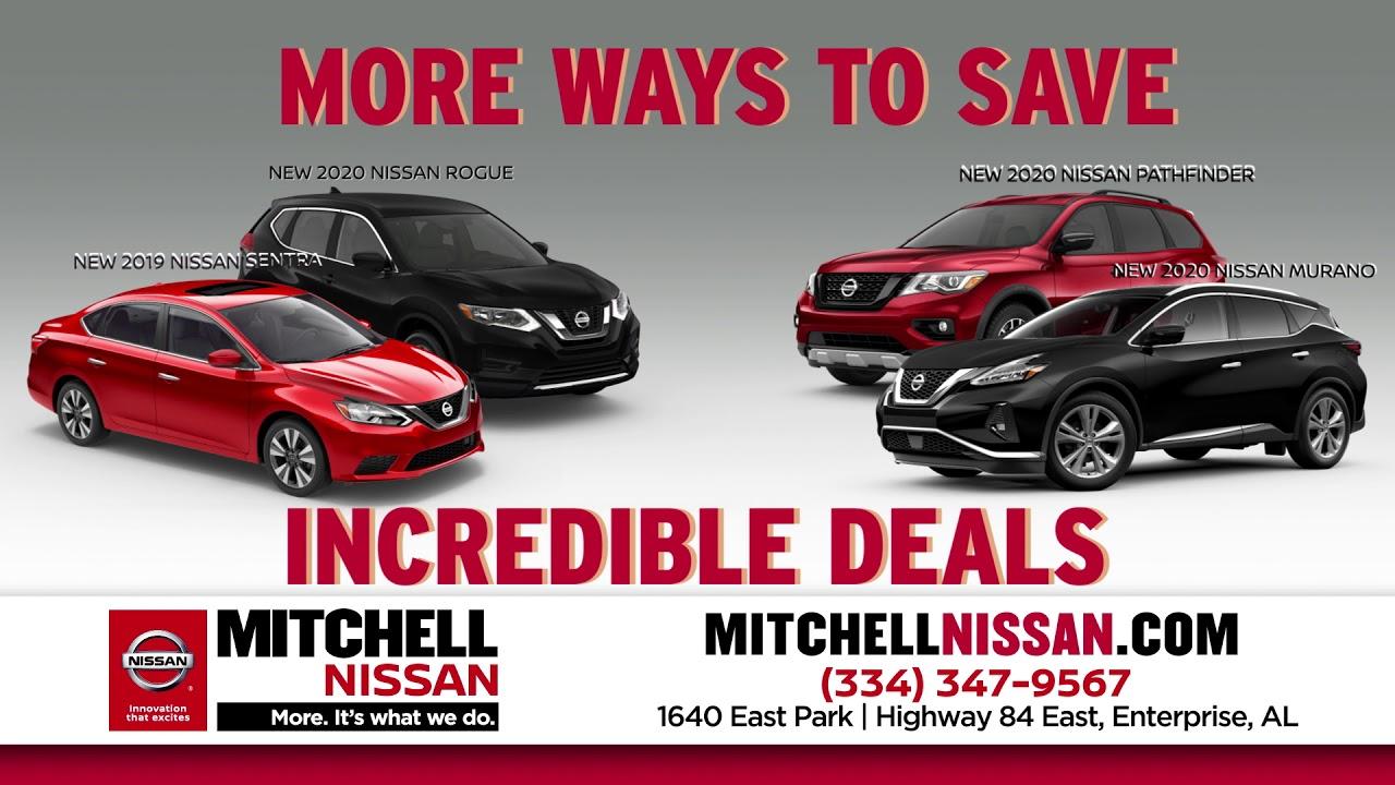 Mitchell Nissan Enterprise Al >> Nissan Dealer In Enterprise Al Serving Elba And Daleville