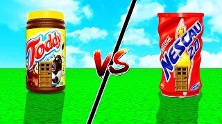 CASA TODDY vs CASA NESCAU NO MINECRAFT !!