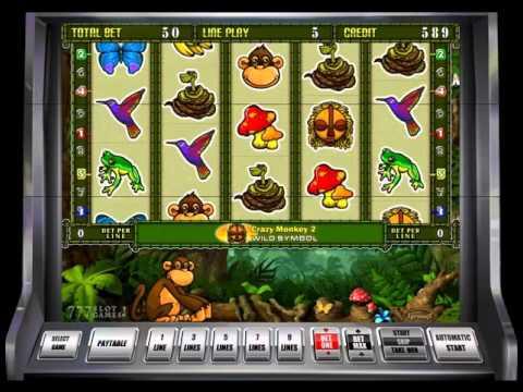 Игровой Автомат Crazy Monkey 2 Igrosoft