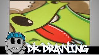 Graffiti Tutorial for beginners - How to draw a simple graffiti character #4(This is my new graffiti workshop. The next weeks i want to show you how to draw graffiti step by step. This video is about how to draw a simple graffiti character ..., 2014-06-22T17:54:00.000Z)