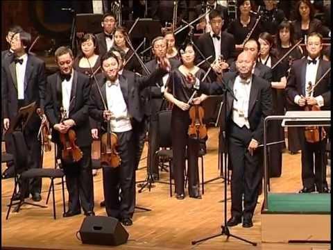 """Butterfly Lover"" violin concerto"