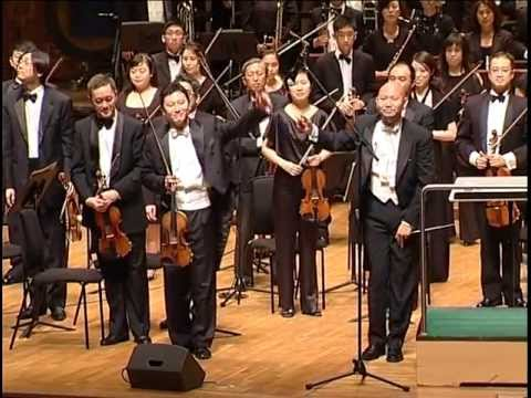 """""""Butterfly Lover"""" violin concerto (Chen Xi/Jimmy Chiang)"""