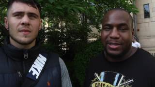 FAKE BEEF! - HEAVYWEIGHTS DAVE ALLEN & IAN LEWISON HOPEFUL THE FIGHT CAN STILL HAPPEN!