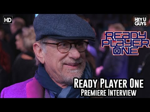 Steven Spielberg on the technology and the nostalgia of Ready Player One - Premiere Interview