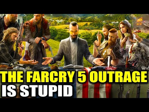 Why The Far Cry 5 Outrage Is Stupid -