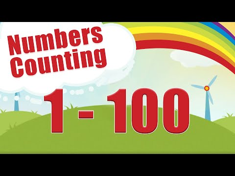 Count to 1-100   Learn Counting   Number Song 1 to 100   One To Hundred Maths Lesson - Arithmetic