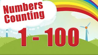 Count To 1 100 Learn Counting Number Song 1 To 100 One To Hundred Maths Lesson Arithmetic