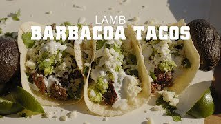 Lamb Barbacoa Tacos on GMG | Sterling Smith