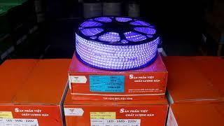 Review đèn LED dây trang trí 3014 nhiều màu - Dây LED Việt Hàn