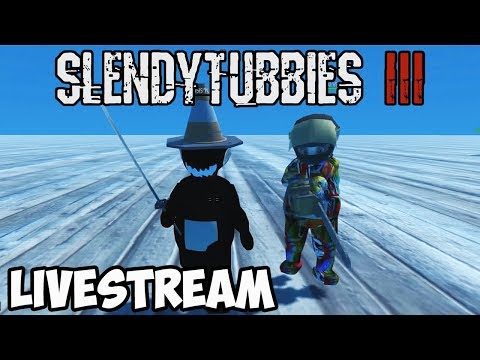 SLENDYTUBBIES 3 MULTIPLAYER LIVESTREAM | SURVIVAL, INFECTED, - MORE SUNDAY FUN WITH MY BUDS!!