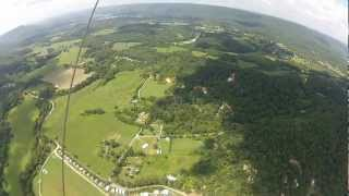 Lookout Mountain Hang-Gliding Through the Clouds thumbnail