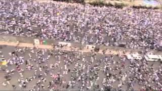 صنعاء :حشود مليونية لثوار اليمن تطالب بادارج جماعة الحوثي المسلحة  كجماعة إرهابية