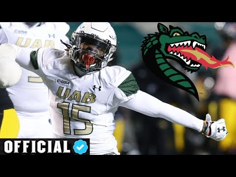 Best Outside Linebacker In Country 💯 Official Tre Crawford UAB Highlights