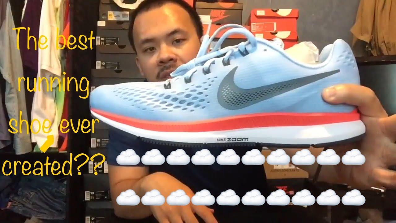 newest 8c191 27734 Nike Air Zoom Pegasus 34 review/ on feet| Breaking 2 hour Marathon colorway