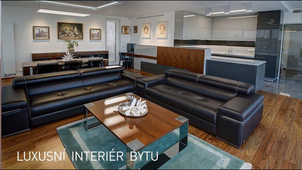 luxusní interíér bytu - YouTube