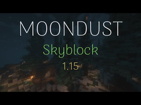 MOONDUST [ SkyBlock ] Free /Fly! Trailer