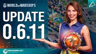 World of Warships - Update 0.6.11