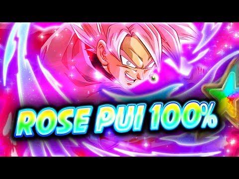 TEST BLACK GOKU ROSÉ PUI ARBRE 100% ( LE SAIYAN TEINTÉ DE ROSE ! )- Dokkan Battle
