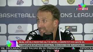 Real Estelí mostró alto nivel competitivo ante el Instituto Atlético Central Córdoba de Argentina