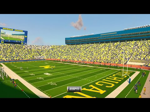 NCAA Football 14 Season 2016 2017 Penn State Nittany Lions vs Michigan Wolverines