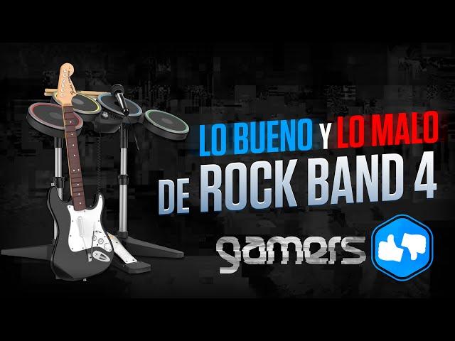 Lo bueno y lo malo de Rock Band 4