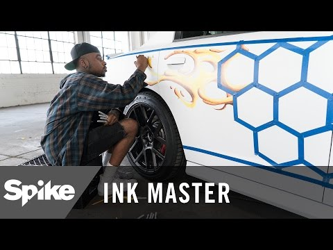 Ink Master To Win Dodge Charger