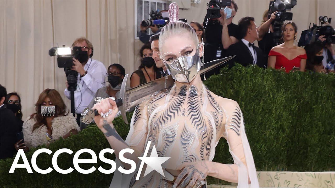 Grimes' Met Gala Fashion Inspired By Timothée Chalamet's Movie 'Dune'