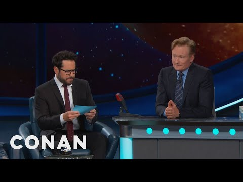 J.J. Abrams Gives Conan The Comic-Con® Citizenship Test  - CONAN on TBS
