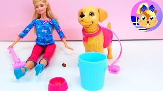 Η Barbie και το σκυλάκι της! | Παίξτε μαζί μου – Παιχνίδια για παιδιά