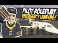 PLANE PILOT RP - Unturned Roleplay | No Fuel Emergency Landing!