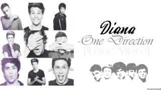 Diana - One Direction [Lyric Video + Download link]