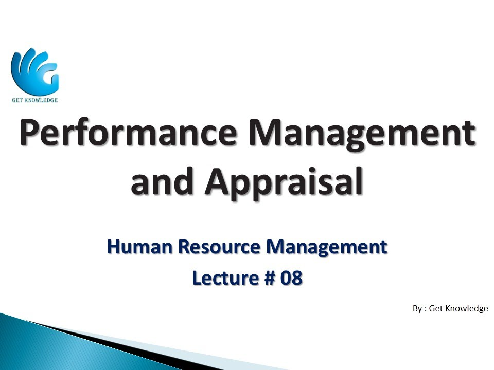 mu0016 performance management and appraisal The performance appraisal is the final step in an effective performance  management process it is a formal, written means of providing performance  feedback,.